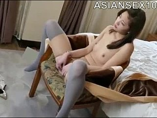 Chinese, Nude, Sexy, Asian, Oriental, Model, Pantyhose